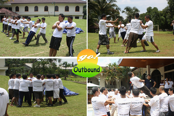 Contoh Permainan (Games) Outbound: Trust Fall
