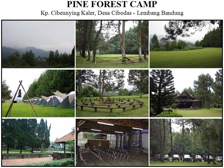 Pine Forest Camp, Kp. Cibeunying Kaler Desa Cibodas - Maribaya Lembang Bandung