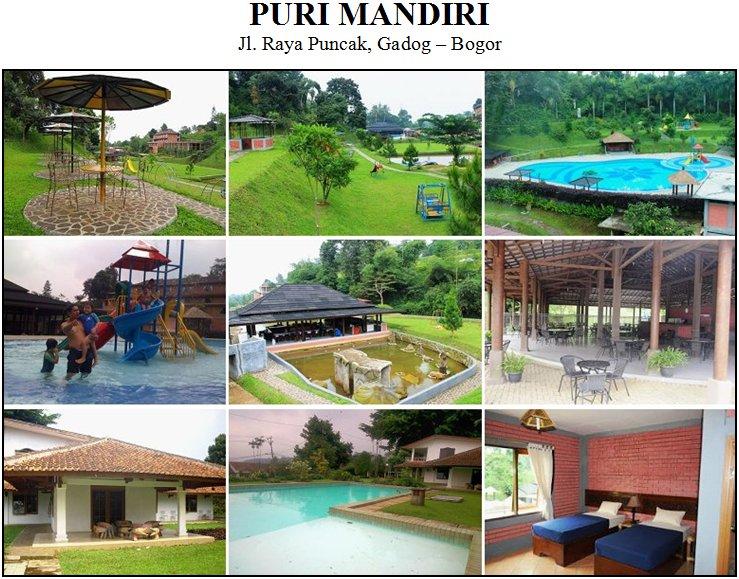 PURI MANDIRI - Puncak, Gadog Bogor