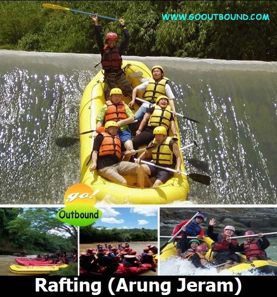 Rafting (Arung Jeram) Citarik Cicatih Cisadane