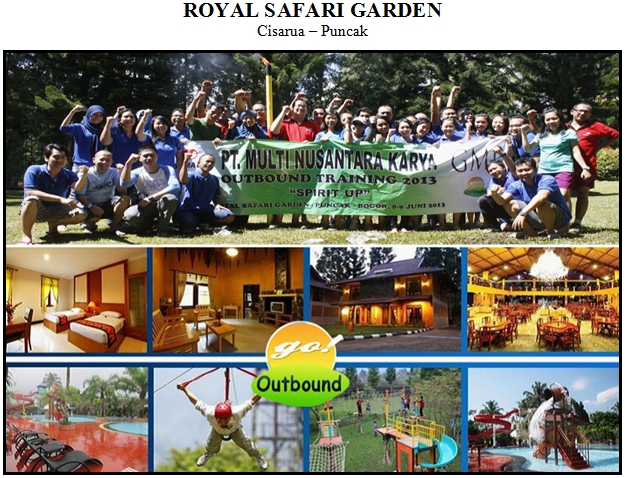 Royal Safari Garden Resort, Cisarua Puncak - Bogor