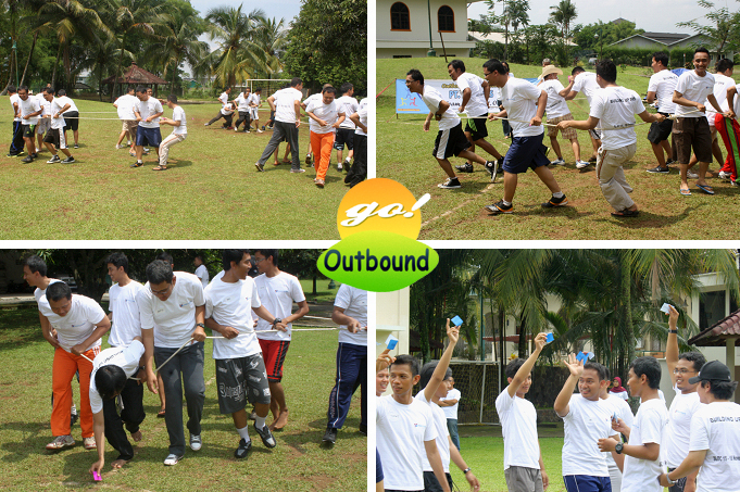 outbound games, permainan outbound, contoh permainan outbound, snake games