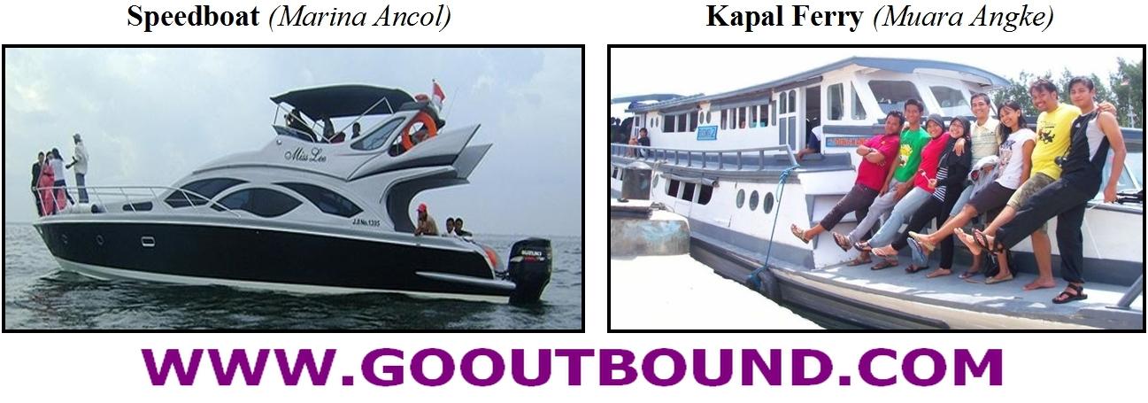 Angkutan Penyeberangan Pulau Seribu Tidung: Speedboat Marina Ancol dan Kapal Ferry Muara Angke