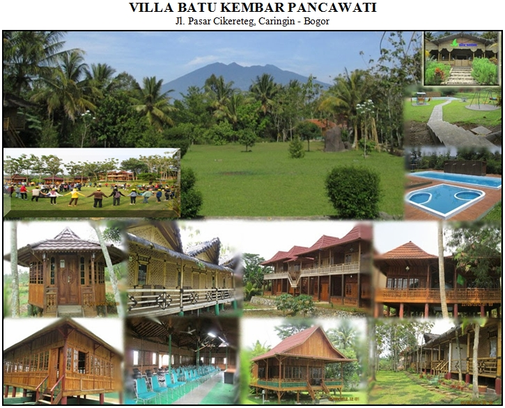 VILLA BATU KEMBAR - Pancawati, Bogor Sukabumi